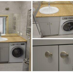 Мебель для ванной на заказ Одесса komfortcenter-1