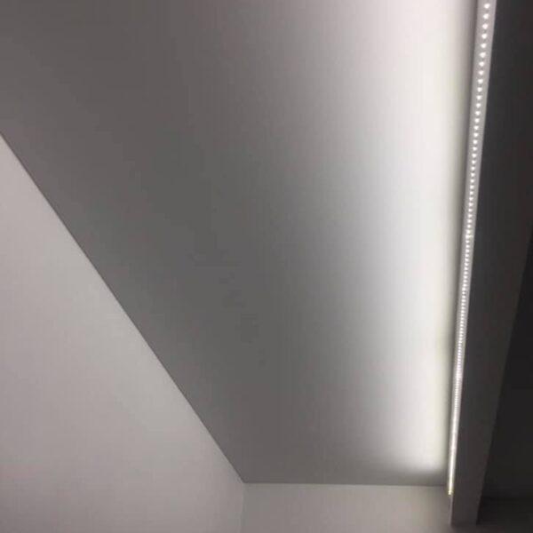 Белый матовый потолок Одесса komfortcenter.com.ua-03