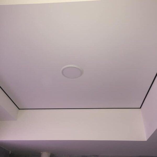 Матовый натяжной потолок зал Одесса komfortcenter.com.ua-05