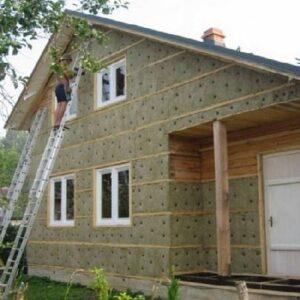 Утепление деревянных стен 1 одесса - komfortcenter.com.ua