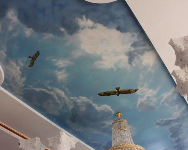 натяжные потолки с фотопечатью - komfortcenter.com.ua