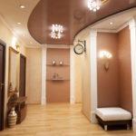 натяжные потолки в коридор-прихожую - komfortcenter.com.ua