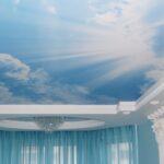 Натяжные потолки под небеса в Одессе и пригороде