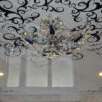 Узорчатые натяжные потолки в Одессе и пригороде