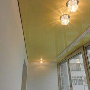 Натяжной потолок на балкон в Одессе komfortcenter.com.ua