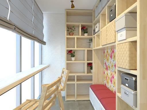мебель на заказ для балкона и лоджии одесса
